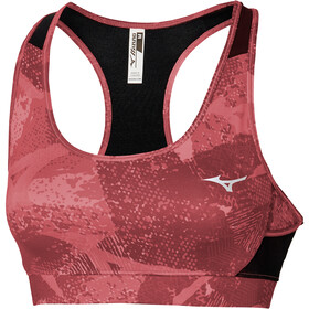 Mizuno Alpha Graphic Bra Women, tea rose